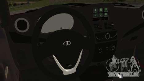 Lada Kalina R2 für GTA San Andreas rechten Ansicht