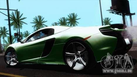 McLaren 650S Spider 2014 für GTA San Andreas