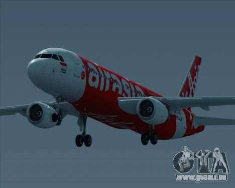 Airbus A320-200 Indonesia AirAsia pour GTA San Andreas vue arrière