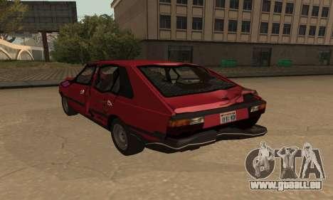 FSO Polonez 1500 pour GTA San Andreas roue