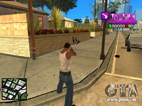 C-HUD Ballas by Inovator pour GTA San Andreas