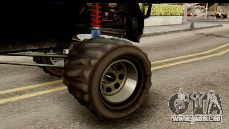 GTA 5 Vapid Sandking SWB IVF für GTA San Andreas Rückansicht