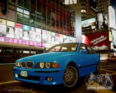 BMW M5 E39 pour GTA 4