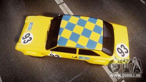 Ford Escort RS1600 PJ93 für GTA 4 rechte Ansicht