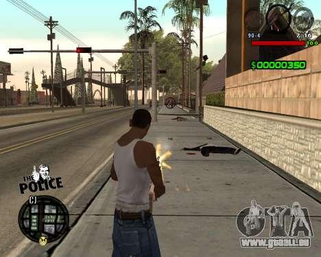 C-HUD by Jim pour GTA San Andreas