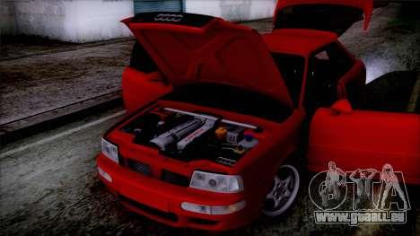 Audi RS2 Coupe für GTA San Andreas Rückansicht