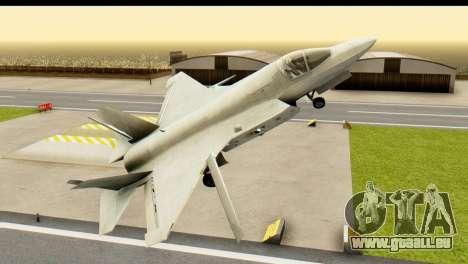 F-35B Lightning II Hatsune Miku Version für GTA San Andreas rechten Ansicht