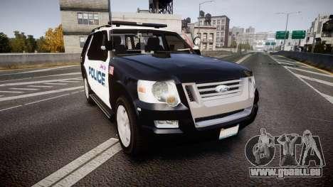 Ford Explorer 2008 Police [ELS] pour GTA 4