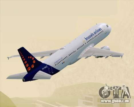 Airbus A320-200 Brussels Airlines für GTA San Andreas