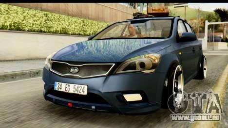Kia Ceed für GTA San Andreas