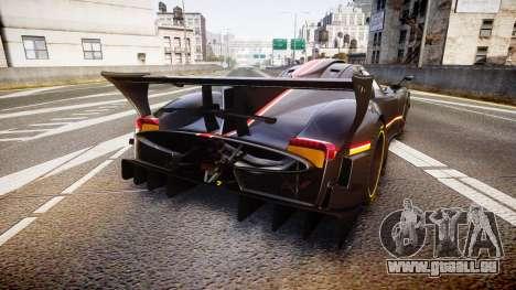 Pagani Zonda Revolution 2013 für GTA 4 hinten links Ansicht