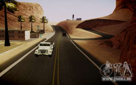 Fourth Road Mod pour GTA San Andreas quatrième écran