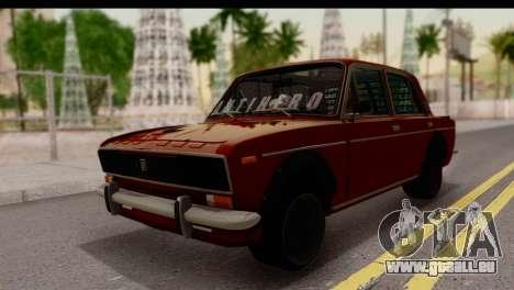 VAZ 2106 BQ pour GTA San Andreas