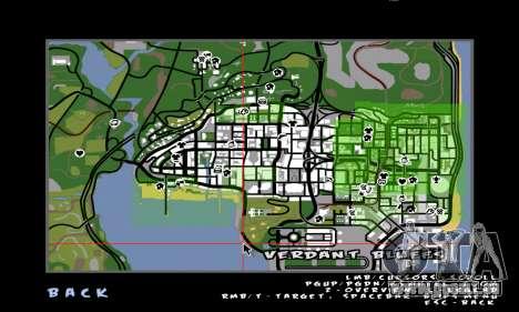 C-HUD Ballas pour GTA San Andreas troisième écran