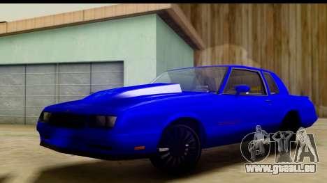Chevy Monte Carlo pour GTA San Andreas
