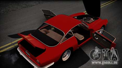 Ferrari 250 GT Berlinetta Lusso 1963 [ImVehFt] für GTA San Andreas Innenansicht