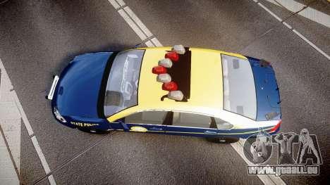 Chevrolet Impala West Virginia State Police ELS pour GTA 4 est un droit