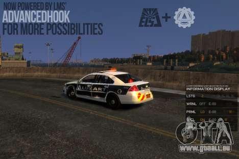 Emergency Lights System v8 [ELS] für GTA 4 dritte Screenshot