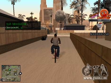 C-HUD Cookie pour GTA San Andreas cinquième écran