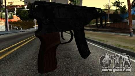 New Tec9 pour GTA San Andreas deuxième écran