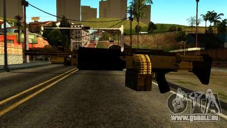 Combat MG from GTA 5 für GTA San Andreas