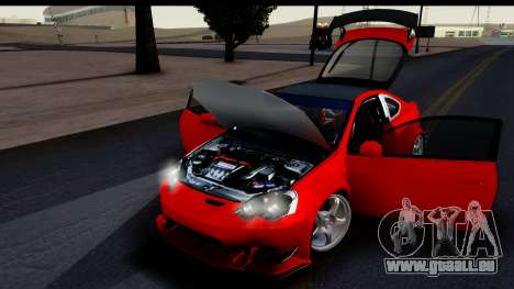 Honda Integra Type R Time Attack HQLM für GTA San Andreas Rückansicht