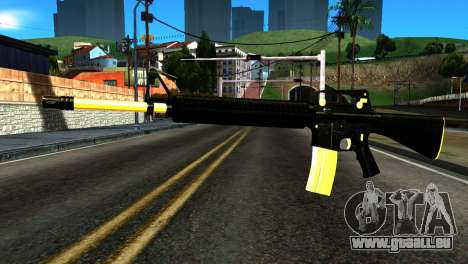 New M4 pour GTA San Andreas