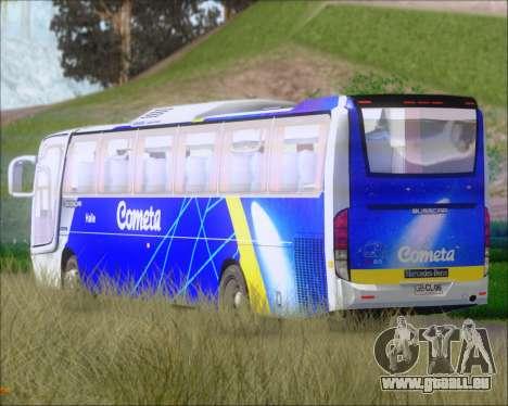 Busscar Vissta Buss LO Cometa pour GTA San Andreas vue de côté