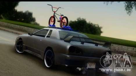 New Elegy Editons pour GTA San Andreas laissé vue