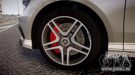 Mersedes-Benz A45 AMG PJs5 für GTA 4 Rückansicht