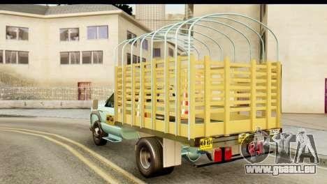 Chevrolet Truck 1995 pour GTA San Andreas laissé vue