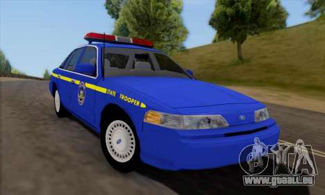 Ford Crown Victoria 1992 State Patrol pour GTA San Andreas