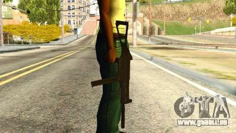 UMP45 from Global Ops: Commando Libya pour GTA San Andreas troisième écran