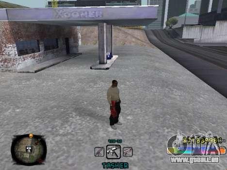 C-HUD Color Tasher für GTA San Andreas zweiten Screenshot