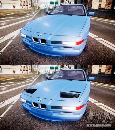 BMW E31 850CSi 1995 [EPM] für GTA 4 Seitenansicht