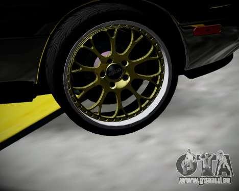 Mazda MX-5 JDM pour GTA San Andreas vue arrière