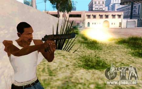 Desert Eagle (Dodgers) für GTA San Andreas zweiten Screenshot