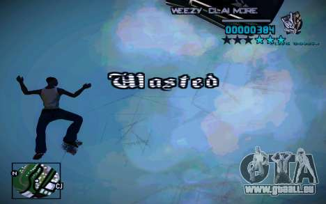 HUD by Weezy für GTA San Andreas her Screenshot