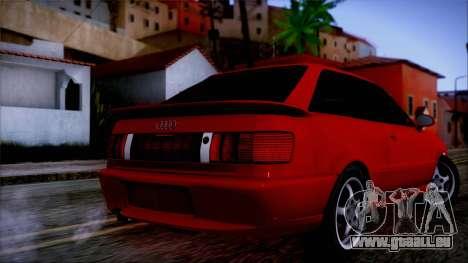 Audi RS2 Coupe pour GTA San Andreas laissé vue