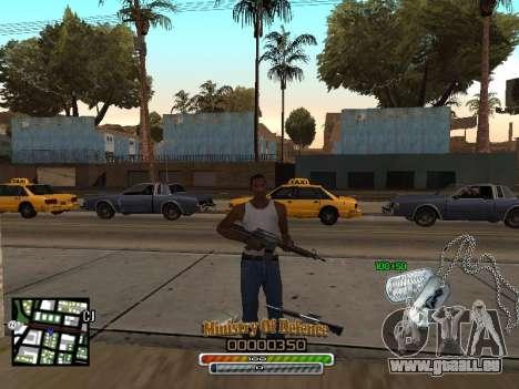 C-HUD для Armee für GTA San Andreas zweiten Screenshot