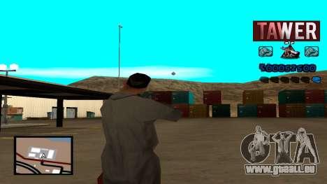 C-HUD Tawer für GTA San Andreas dritten Screenshot