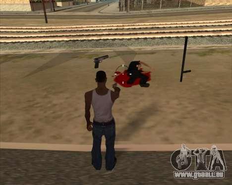 Einstellungen Ragdoll für GTA San Andreas dritten Screenshot
