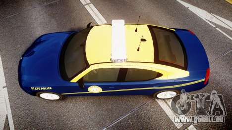 Dodge Charger West Virginia State Police [ELS] für GTA 4 rechte Ansicht