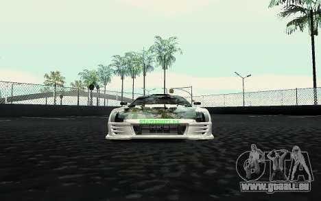 Toyota Supra VCDT pour GTA San Andreas vue de droite