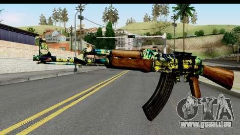 Grafiti AK47 für GTA San Andreas