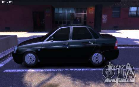 Lada 2170 Priora für GTA 4 hinten links Ansicht