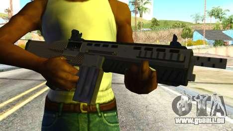 Assault Shotgun from GTA 5 pour GTA San Andreas troisième écran