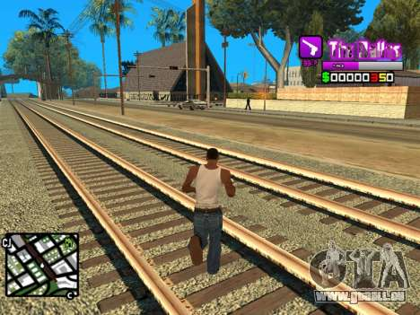 C-HUD Ballas by Inovator für GTA San Andreas dritten Screenshot