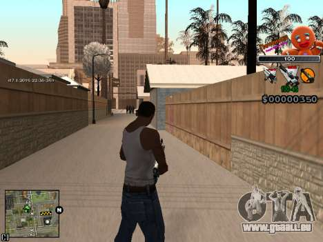C-HUD Cookie pour GTA San Andreas