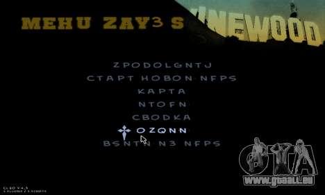 C-HUD Army für GTA San Andreas achten Screenshot